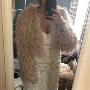 bcb0353be7 Jackets & Blazers - Shaggy Faux Fur Coat